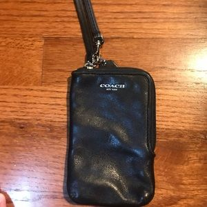 Coach phone case and wallet